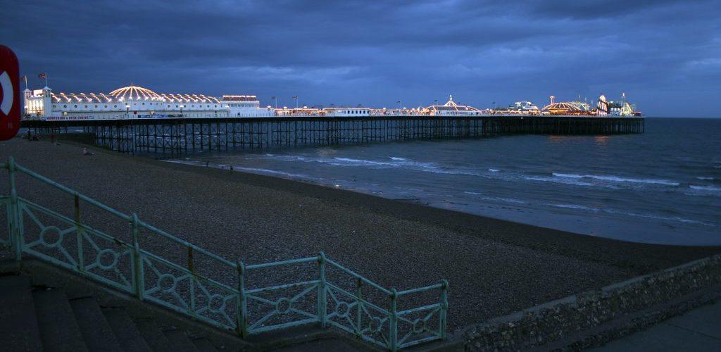 Sommerferie i syd England 18 - 29. jul. 05 Brighton  .